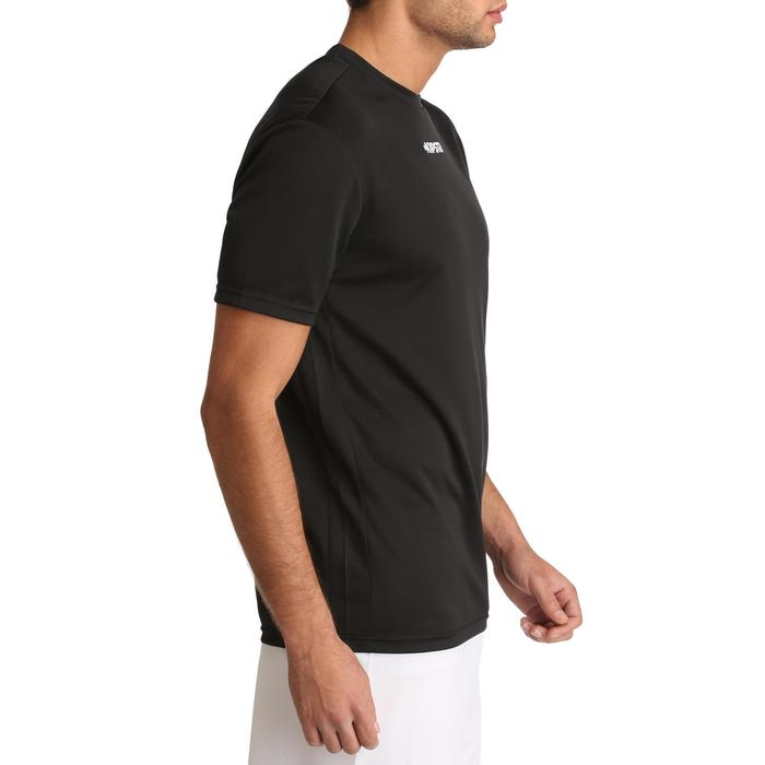 Camiseta de fútbol adulto F100 negro
