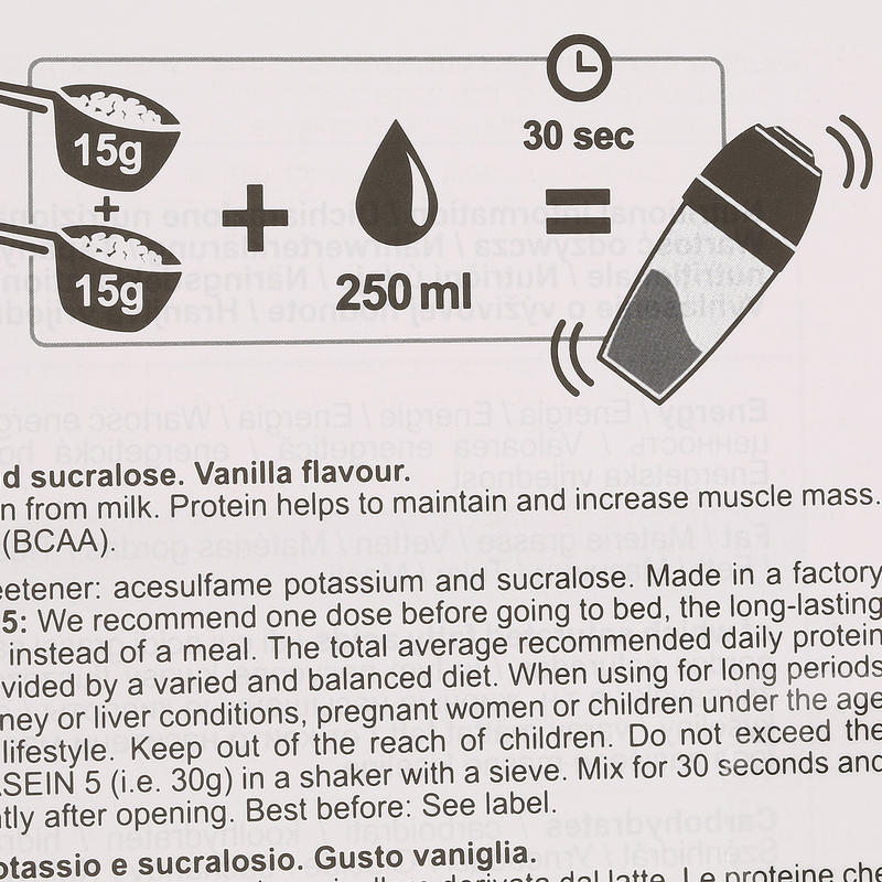 PROTEINE WHEY 9 vanille 900g