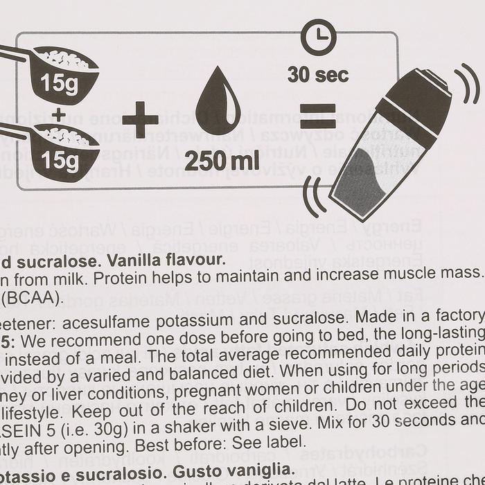 Proteinpulver Eiweißpulver Whey 9 Vanille 900g