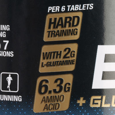 BCAA 2.1.1 + Glutamine Chewable Tablets x 90 - Red Berries