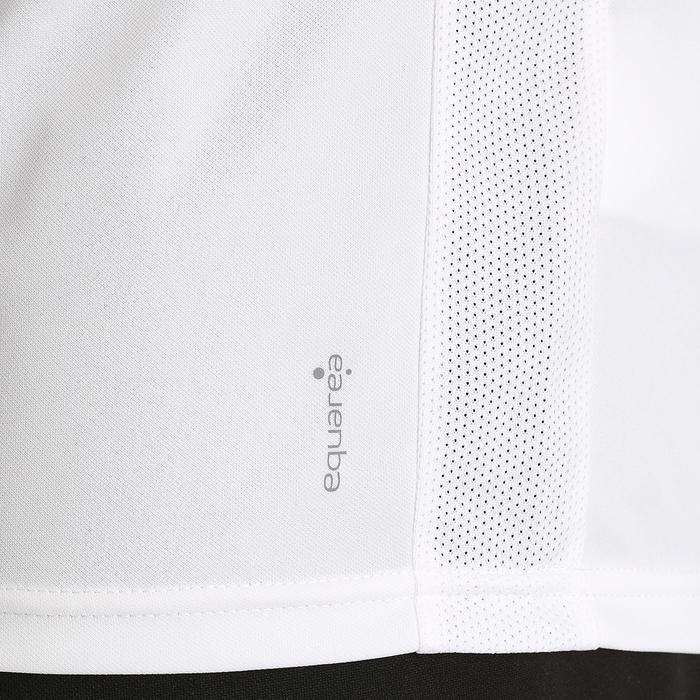 Camiseta fútbol adulto F100 Blanco