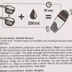 Eiwitten Caseïne 5 vanille 900 g - 42781