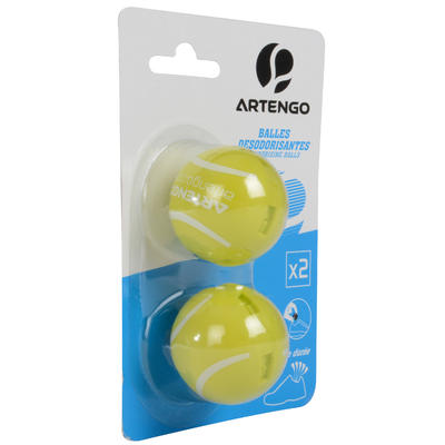 Shoe Deodorising Balls - Yellow