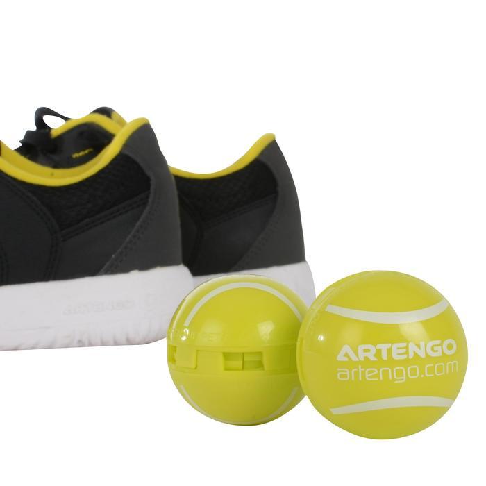 Ontgeurbollen voor schoenen geel