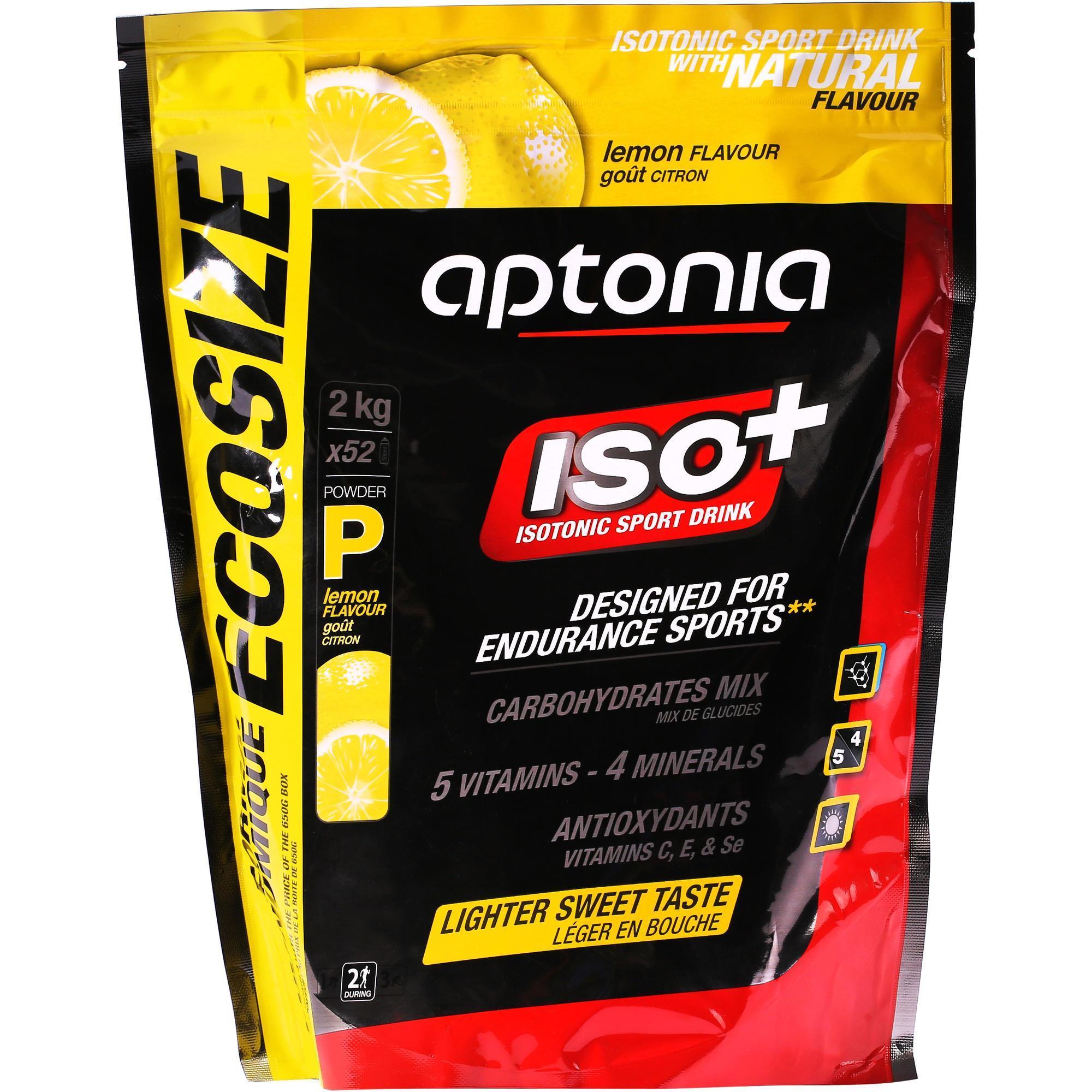 Isotone dorstlesser ISO+ citroen 2 kg