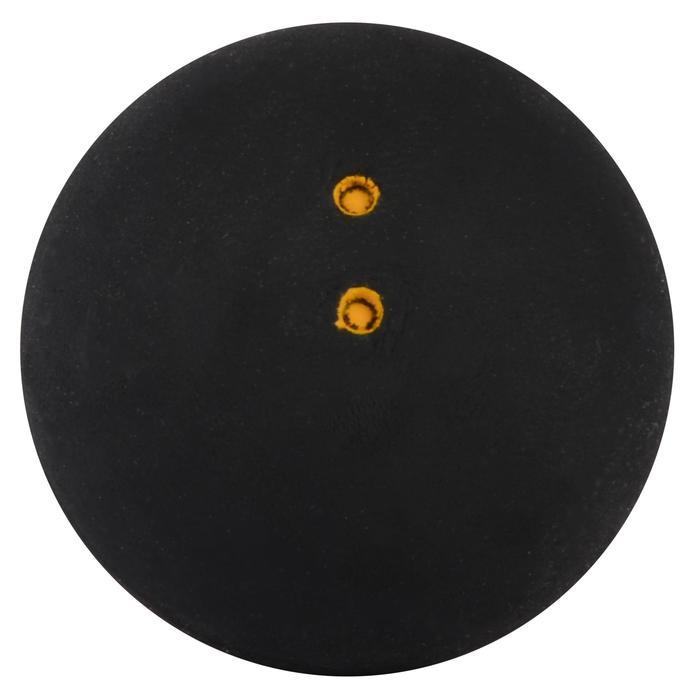 Squashbal SB 960 dubbele gele stip 2 stuks - 428093