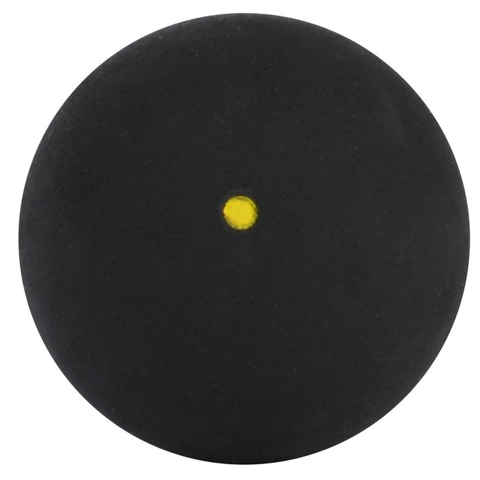 Squashbal SB 930 x2, enkele gele stip