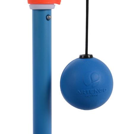 Набор для игры в тетербол (1 шест, 2 ракетки и 1 мяч)