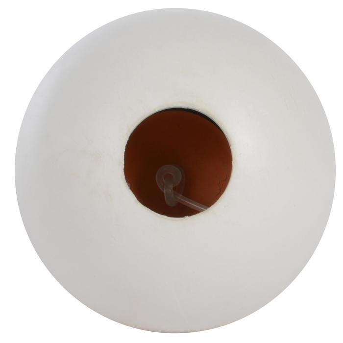 "Balle de Speedball ""TURNBALL PERF BALL"" caoutchouc blanc"