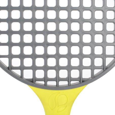 Turnball Perf Speedball Racket - Grey/Yellow