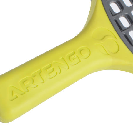 Turnball Perf Speedball Racket - Grey/Yellow