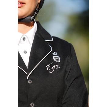 Paddock Children's Horse Riding Show Jacket - Black - 428420