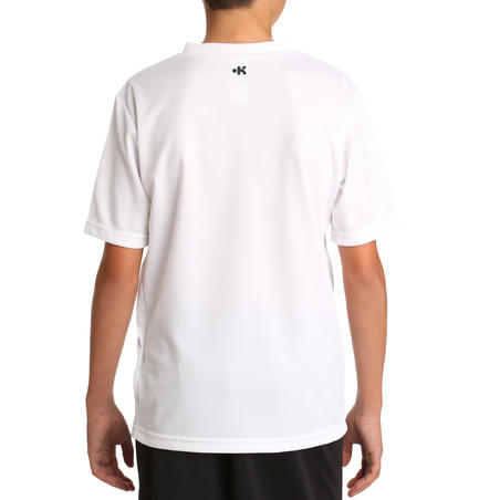 F100 Junior Kaos Sepak bola - Putih