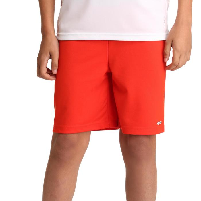 Pantalón corto de fútbol niños F100 negro Kipsta  11aae03fb0a76