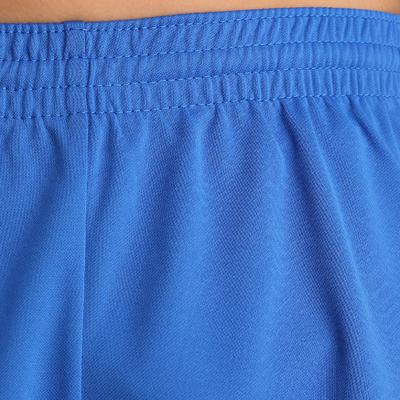 Pantaloneta de fútbol niños F100 azul