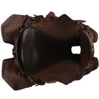 Escape Horse Riding Hacking Saddle for Horse - Brown