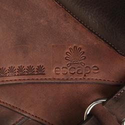 成馬用馬術馬鞍Escape-棕色