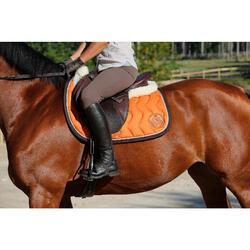 Pantalón badanas equitación mujer BR780 fullseat marrón