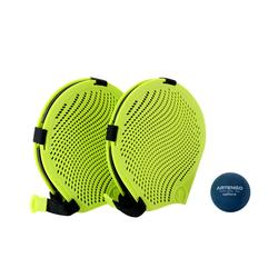 Handschuh-Tennis Set