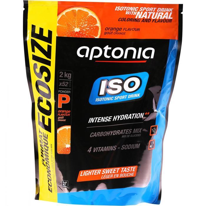 Bebida Isotónica Polvo Triatlón Aptonia ISO Naranja 2 Kg