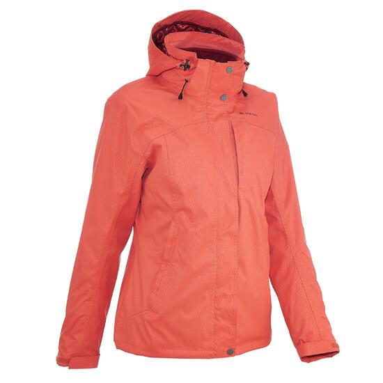 Trekkingjas dames RainWarm 300 3 in 1 - 42950