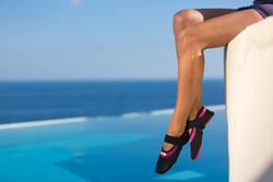 Schoentjes Aquabike Aquaballerina zwart/roze - 429703