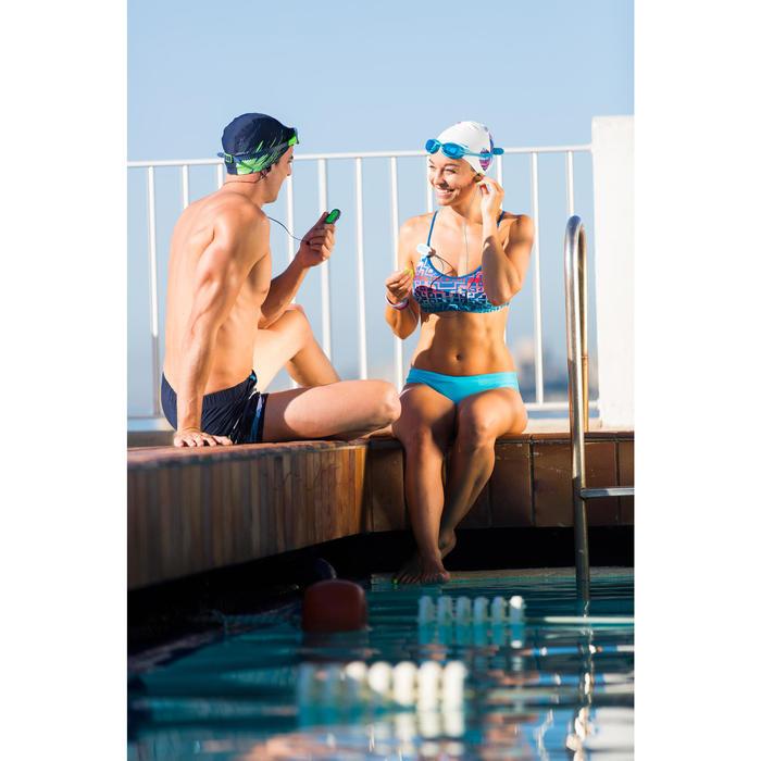 網眼布料泳帽,S號和L號 - 黑色