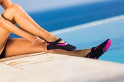 Schoentjes Aquabike Aquaballerina zwart/roze - 429706