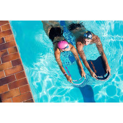 大型游泳浮板藍色黑色