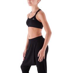 Zwart danstopje met dunne schouderbandjes voor meisjes. - 430510