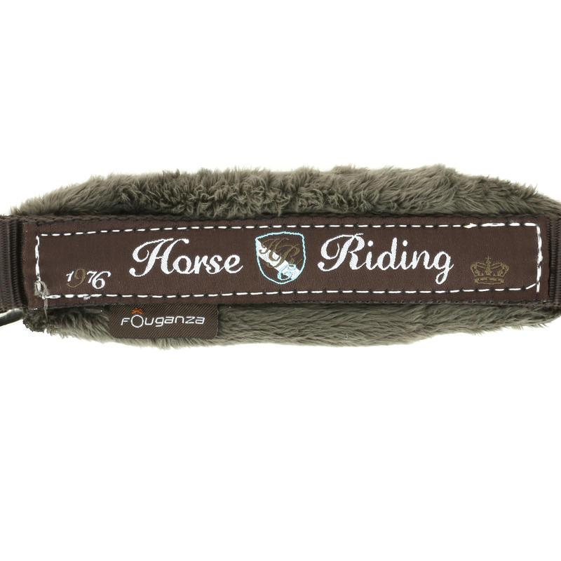 Licol + longe équitation poney et cheval WINNER marron