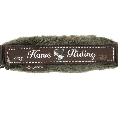 مجموعة لجام وزمام للأحصنة والأمهار - لون بني