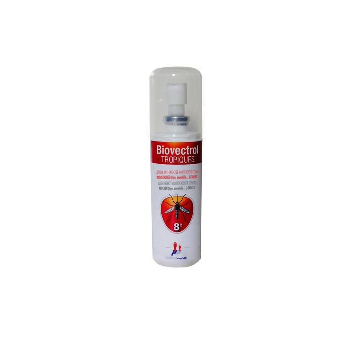 Spray répulsif anti-moustique BIOVECTROL TROPICAL 75ml - 430928