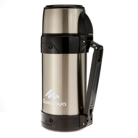 insulated stainless steel hikers flask 1.5 litre