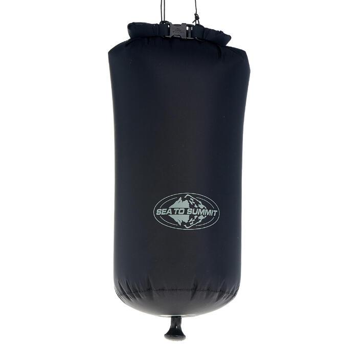 Compacte kampeerzonnedouche 10 liter