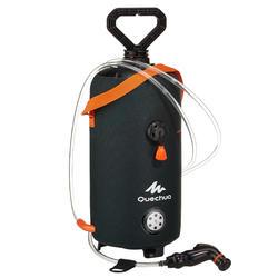 Zonnedouche voor kamperen / trekking onder druk 8 liter donkergroen