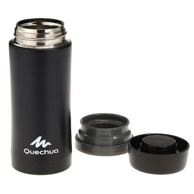 Isothermal Stainless Steel Hiking Mug 0.35L - Black