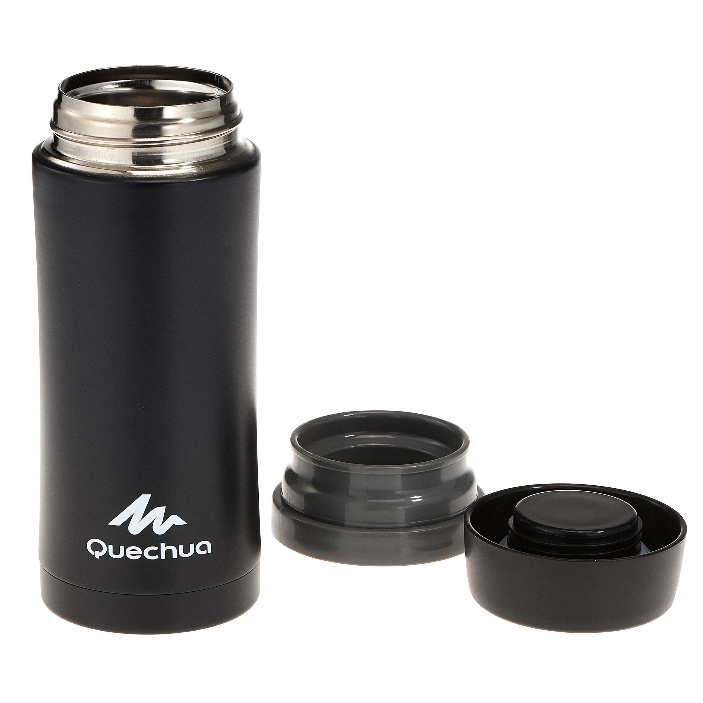 Mug isotherme randonnée inox 0,35 litre noir