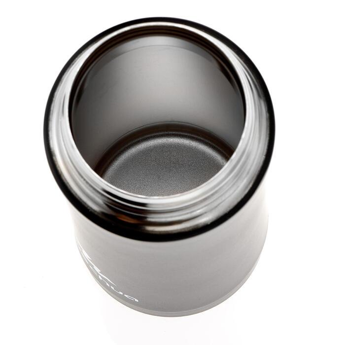 Mug isotermo senderismo acero inoxidable 0,35 L negro