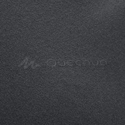Wandelshirt voor bergtochten MH100 korte mouwen heren donkergrijs