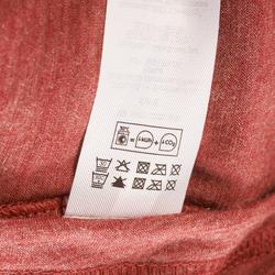 T-shirt korte mouwen Trekking Techwool 155 heren - 431705