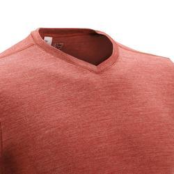 T-shirt korte mouwen Trekking Techwool 155 heren - 431706