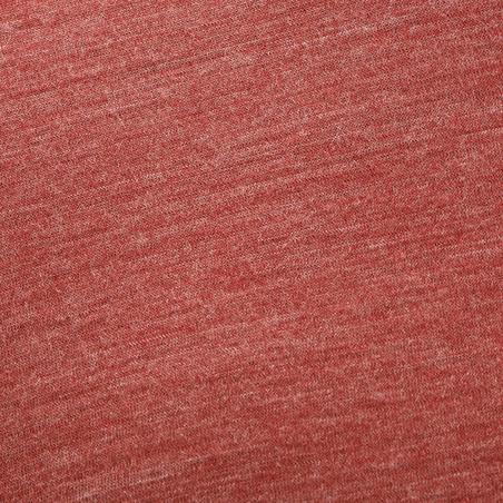 Short Sleeved Trekking Techwool 155 Man's T-Shirt - Red