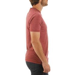 T-shirt korte mouwen Trekking Techwool 155 heren - 431709
