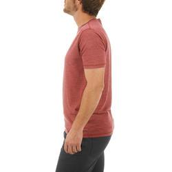 T-shirt korte mouwen Trekking Techwool 155 heren - 431711