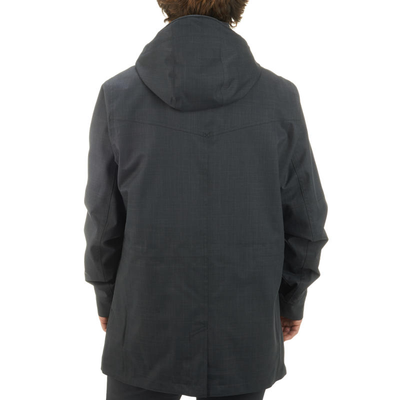 Veste Pluie Imperméable Randonnée Homme Arpenaz 500 noir