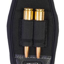 Correa Rifle Caza Solognac 300 Ajustable Neopreno Negro