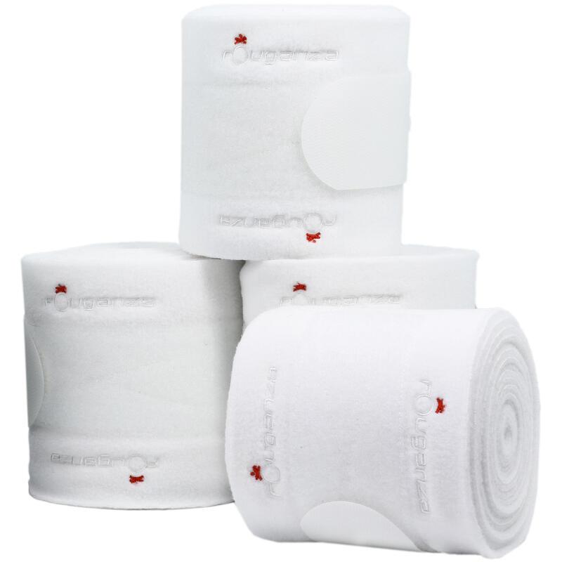 Horse Riding Horse or Pony Polo Bandages 4 x 3 m - White