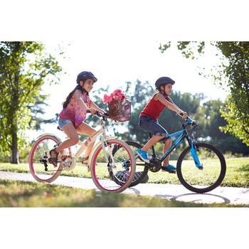 VTT ENFANT ROCKRIDER 500 24 POUCES 9-12 ANS BLEU