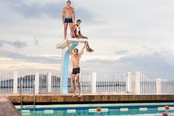 Zwemboxer voor heren B-Active Pep - 432478